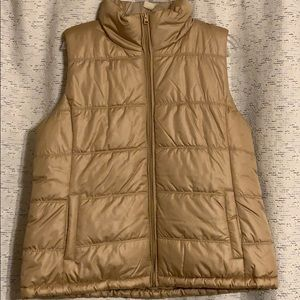 NY&C Gold Puffy Vest